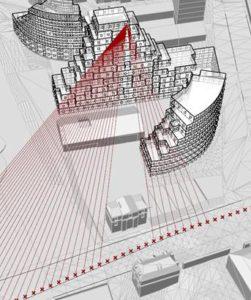 Calcul de l'exposition au bruit des façades par les outils MESH