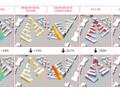 Optimisations monocritères sur l'îlot 4G, Ivry-Confluences © MESH